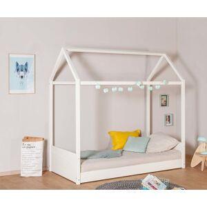 Ma Chambre d'Enfant Lit enfant cabane Aho  Blanc 90x190 cm - Publicité