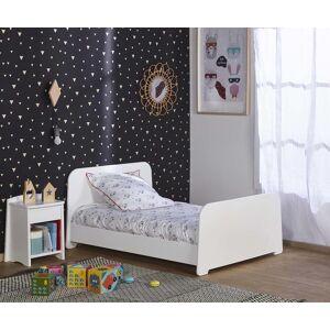Ma Chambre d'Enfant Lit enfant évolutif Eden  Blanc 90x140 à 90x190 cm - Publicité