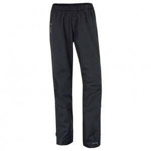 Vaude - Women's Fluid Full-Zip Pants - Pantalon imperméable taille 42, noir