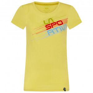 La Sportiva - Women's Stripe Evo T-Shirt - T-shirt taille L, jaune