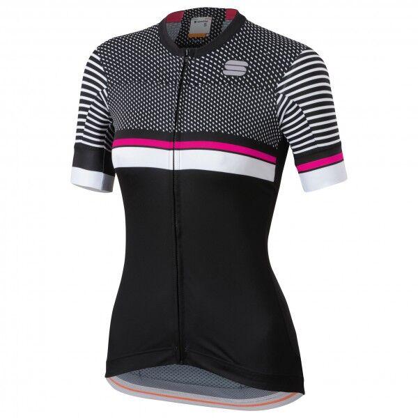 Sportful - Diva 2 Jersey - Maillot vélo taille XS, noir/gris