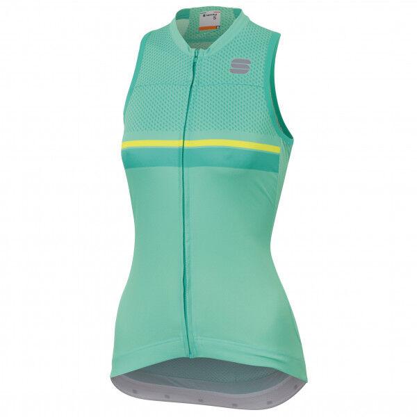 Sportful - Diva 2 Sleeveless - Débardeur vélo taille L, turquoise