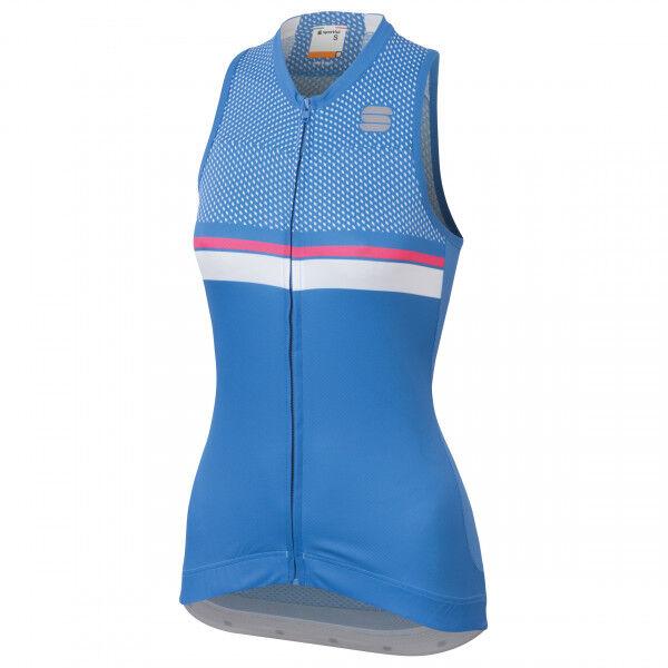 Sportful - Diva 2 Sleeveless - Débardeur vélo taille M, bleu