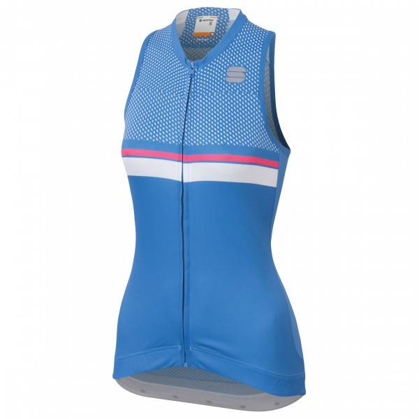 Sportful - Diva 2 Sleeveless - Débardeur vélo taille XS, bleu