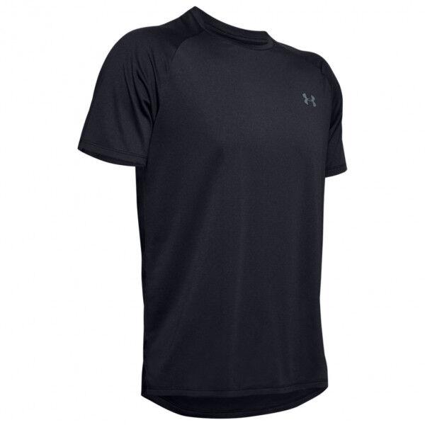 Under Armour - UA Tech 2.0 S/S Tee Novelty - T-shirt technique taille L - Regular, noir