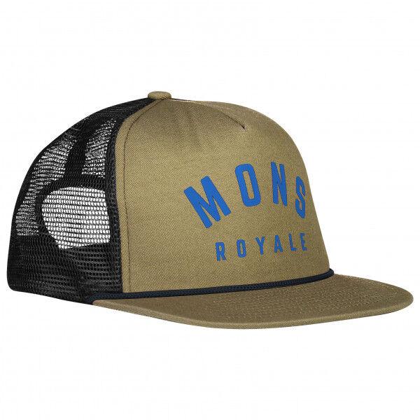 Mons Royale - The Acl Trucker Cap - Casquette taille One Size, noir/gris/vert olive/brun