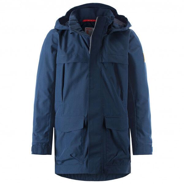 Reima - Kid's Bock - Veste imperméable taille 128, bleu/noir