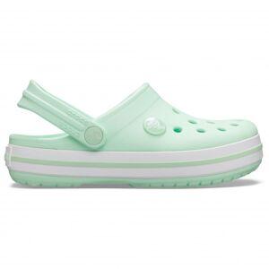 Crocs - Kid's Crocband Clog - Sandales de marche taille C12, gris/vert