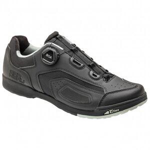 Garneau - Cobalt Boa Cycling Shoes - Chaussures de cyclisme taille 45, noir/gris