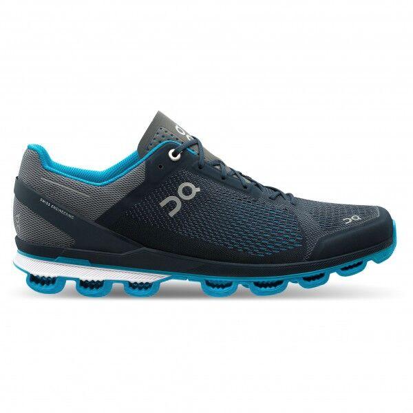 on - cloudsurfer - chaussures de running taille 48, noir/gris