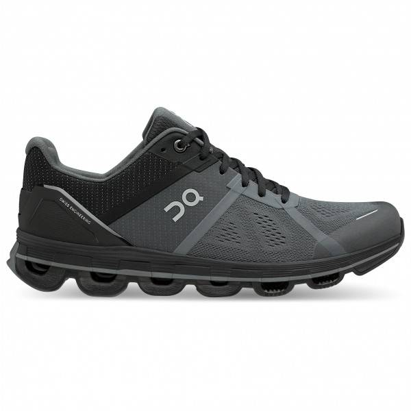 on - cloudace - chaussures de running taille 12,5, noir/gris