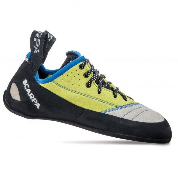 Scarpa - Velocity L - Chaussons d'escalade taille 40,5, noir/gris