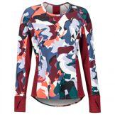 Marmot - Women's Midweight Meghan Crew - Sous-vêtement synthétique taille M, rouge/gris