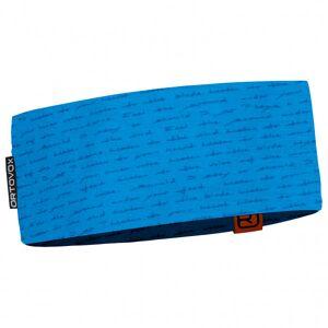 Ortovox - 120 Tec Print Headband - Bandeau taille One Size, bleu