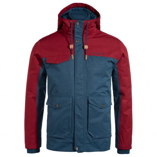 Vaude - Manukau Jacket - Veste d'hiver taille L, bleu/rouge
