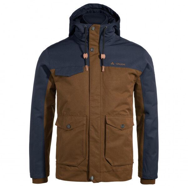 Vaude - Manukau Jacket - Veste d'hiver taille M, brun/noir