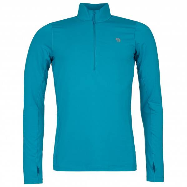 Mountain Hardwear - Ghee Long Sleeve 1/2 Zip - Sous-vêtement synthétique taille L, turquoise
