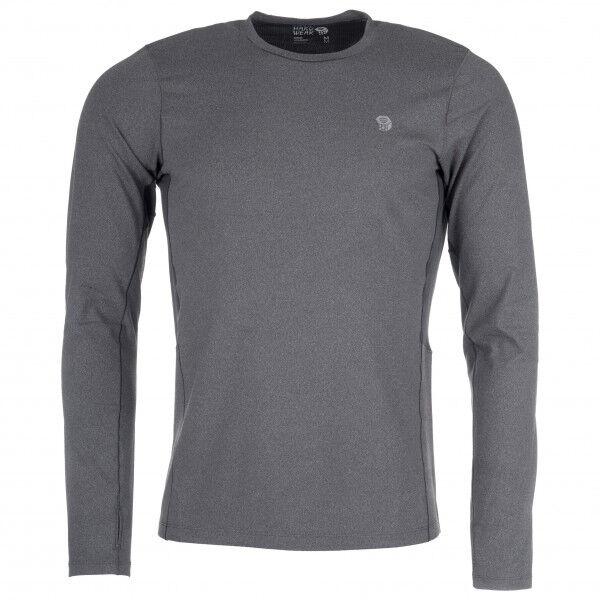 Mountain Hardwear - Ghee Long Sleeve Crew - Sous-vêtement synthétique taille L, gris