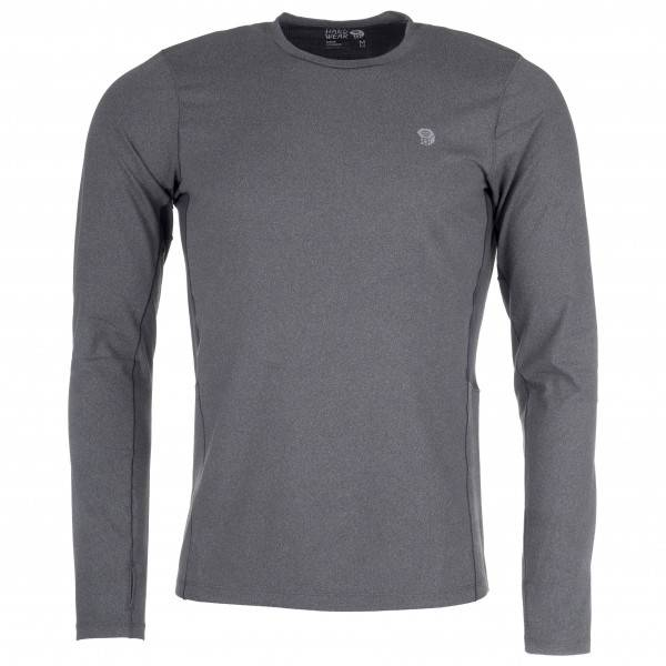 Mountain Hardwear - Ghee Long Sleeve Crew - Sous-vêtement synthétique taille XL, gris