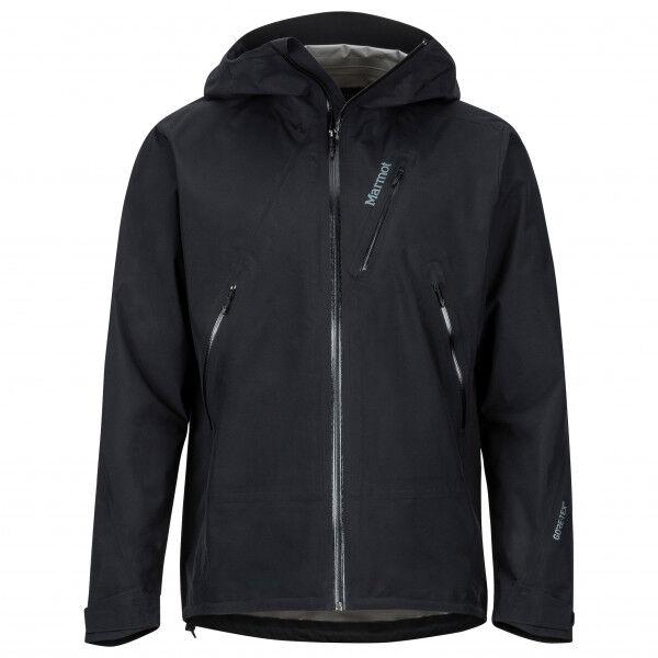 Marmot - Knife Edge Jacket - Veste imperméable taille L, noir