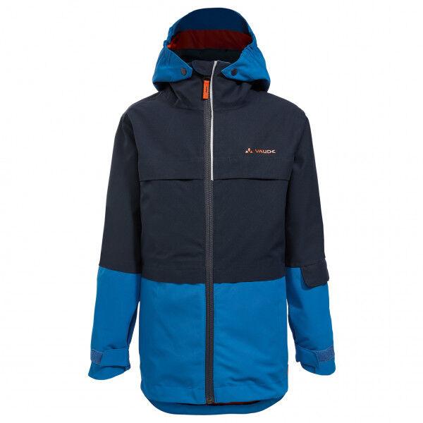 Vaude - Kid's Snow Cup 3in1 Jacket - Veste 3 en 1 taille 110/116, noir/bleu