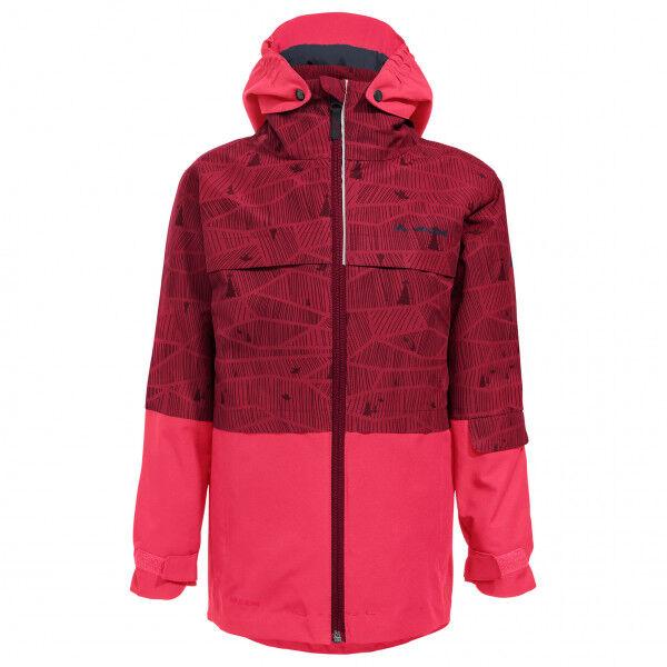 Vaude - Kid's Snow Cup 3in1 Jacket AOP - Veste 3 en 1 taille 110/116, rouge/rose