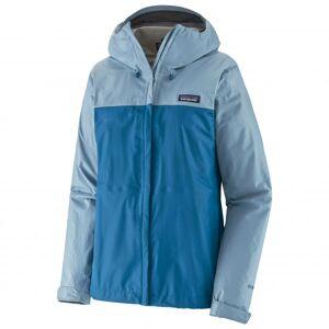 Patagonia - Women's Torrentshell 3L Jacket - Veste imperméable taille L, bleu/gris - Publicité