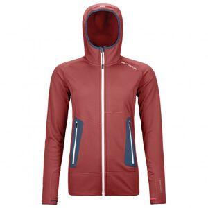 Ortovox - Women's Fleece Light Hoody - Veste polaire taille XS, rouge/rose