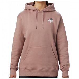 Mountain Hardwear - Women's Hotel Basecamp Pullover Hoody - Sweat à capuche taille L, gris/beige/brun