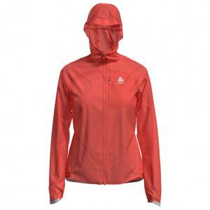 Odlo - Women's Jacket Zeroweight Dual Dry Waterproof - Veste de running taille S, rouge