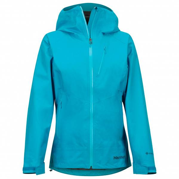 Marmot - Women's Knife Edge Jacket - Veste imperméable taille S, turquoise