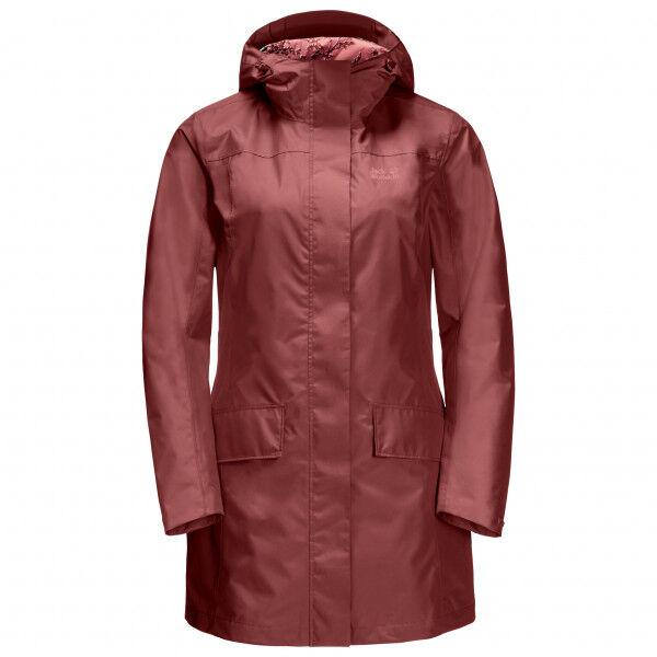 Jack Wolfskin - Women's Cape York Coat - Manteau taille M, rouge