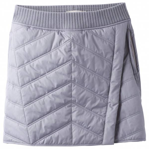 Prana - Women's Diva Wrap Skirt - Jupe synthétique taille XS, gris