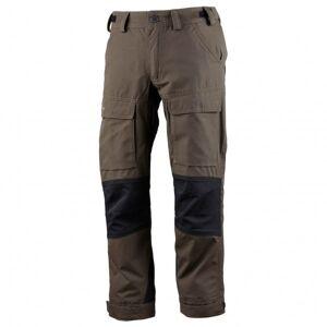Lundhags - Authentic Junior Pant - Pantalon de trekking taille 122/128, brun/noir/gris