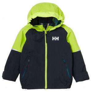 Helly Hansen - Kid's Shelter Jacket - Veste imperméable taille 5 Years, noir/vert