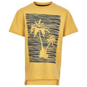 Minymo - Kid's T- Shirt S/S Print Palme - T-shirt taille 122, orange