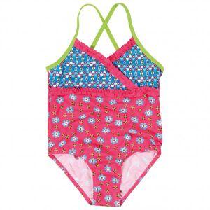 Playshoes - Kid's UV-Schutz Badeanzug Blumen - Maillot de bain taille 110/116, rose