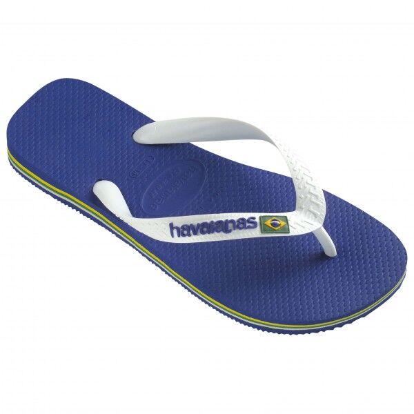 Havaianas - Brasil Logo - Sandales de marche taille 43/44, bleu