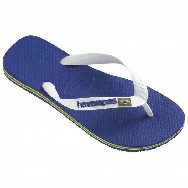 Havaianas - Brasil Logo - Sandales de marche taille 35/36, bleu