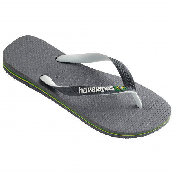 Havaianas - Brasil Mix - Sandales taille 41/42, gris