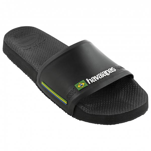 Havaianas - Slide Brasil - Sandales taille 39/40, noir