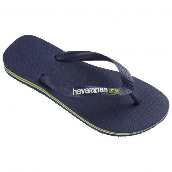 Havaianas - Brasil Logo - Sandales de marche taille 37/38, bleu/noir