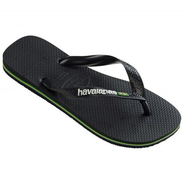 Havaianas - Brasil Logo - Sandales de marche taille 43/44, noir