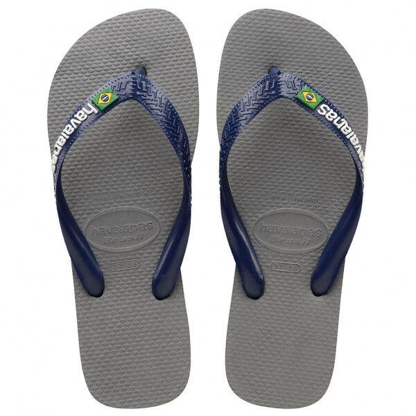 Havaianas - Brasil Logo - Sandales de marche taille 43/44, gris