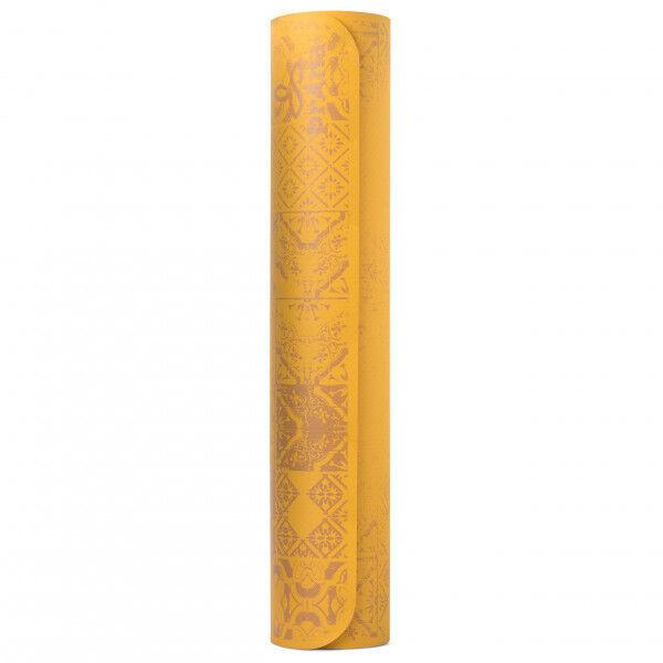 Prana - Henna E.C.O. Yoga Mat - Tapis de yoga taille 183 cm x 61 cm x 5 mm - Regular, orange/beige
