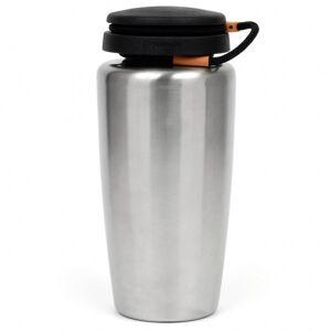 Nalgene - Edelstahlflasche Backpacker - Gourde taille 0,94 l, gris/noir