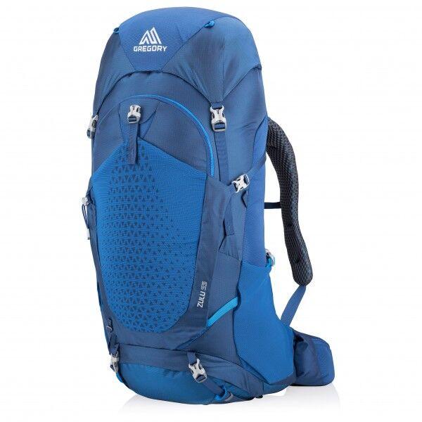 Gregory - Zulu 55 - Sac à dos de trekking taille 55 l - M/L;55 l - S/M, noir;bleu