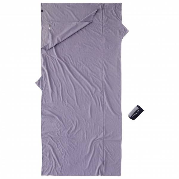 Cocoon - Cocoon Insect Shield Travelsheet - Sac de couchage léger taille 230 x 106 cm - XL, gris