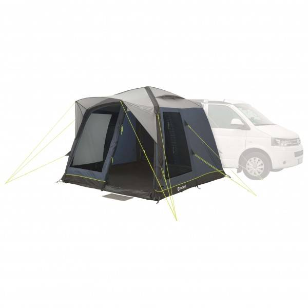 Outwell - Milestone Pace Air - Auvent camping-car taille 15 kg, noir/gris/blanc