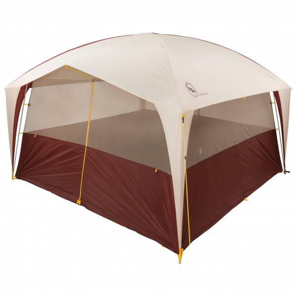 Big Agnes - Sugarloaf Camp - Auvent camping-car rouge/blanc/brun